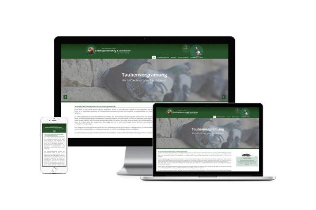 Werbeagentur Elmshorn - Webdesign - Glaus Gebäudeservice GmbH