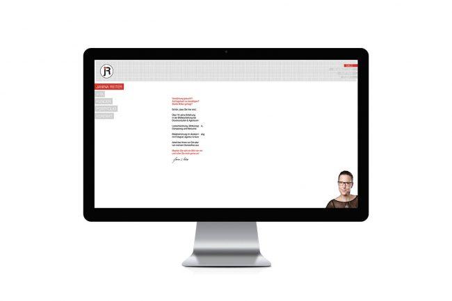 Werbeagentur Elmshorn - Webdesign - Janina Reiter