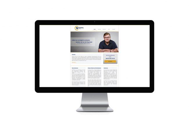 Werbeagentur Elmshorn - Webdesign - Westphal Hypnose