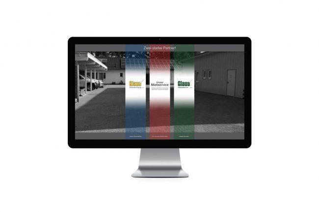 Werbeagentur Elmshorn - Webdesign - Glaus Gebäudereinigung GmbH