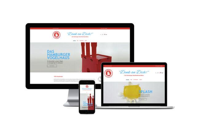 Werbeagentur Elmshorn - Webdesign   Onlineshop - denk-an-dich