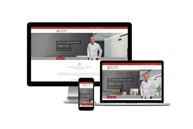 Werbeagentur Elmshorn - Webdesign - Holger Laube Immobilien